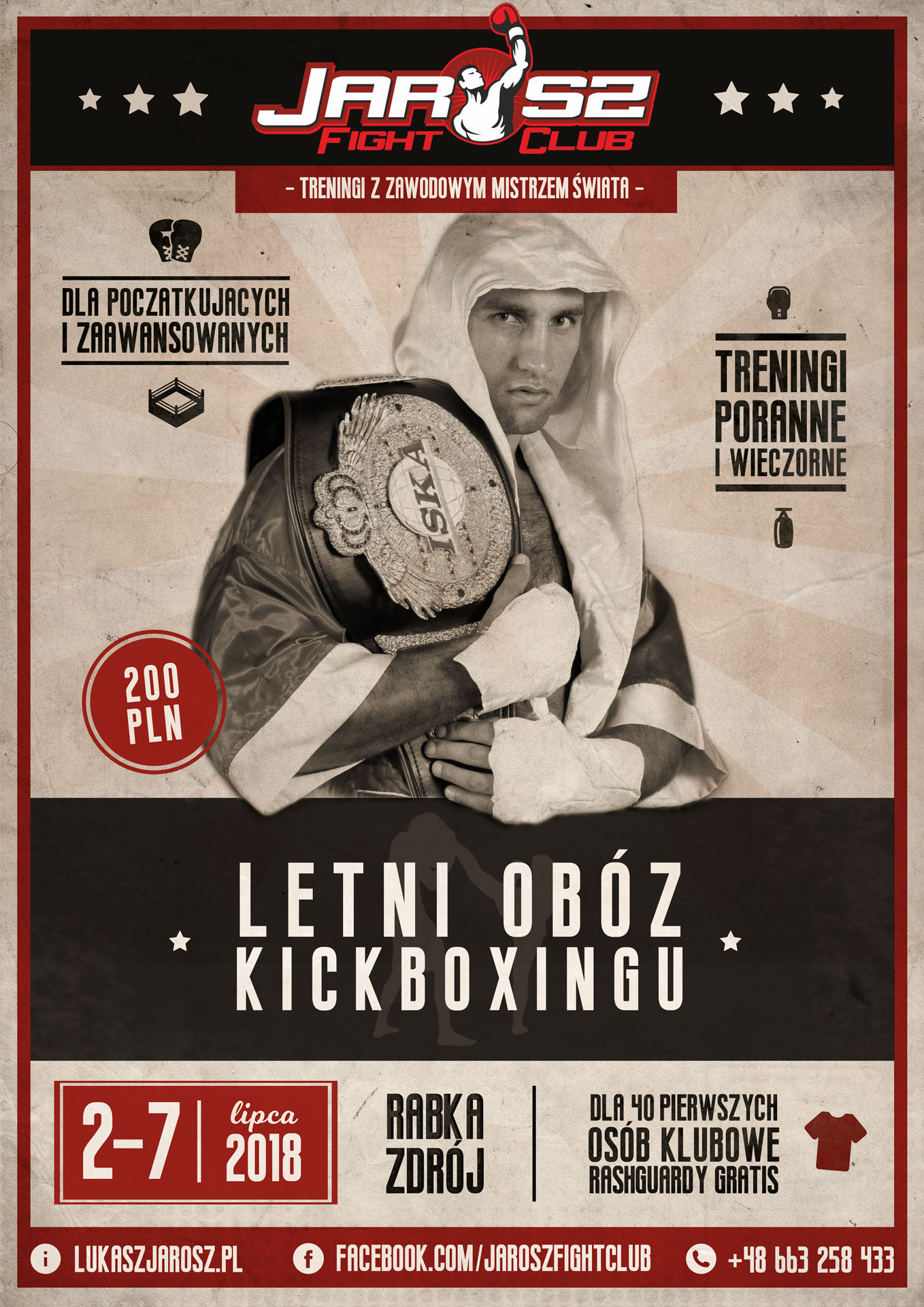 Letni Obóz Kickboxingu 2018